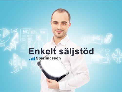 Enkelt säljstöd | Inlägg av Stefan Sperlingsson | Lär dig bygga kundnöjdhet | Ring Sperlingsson direkt → → 0733-850216