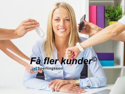 Få fler kunder - en säljutbildning | Ring Sperlingsson direkt →→ 0733-850216