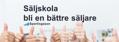 Säljskola bli en bättre säljare   Ring Sperlingsson direkt →→ 0733-850216