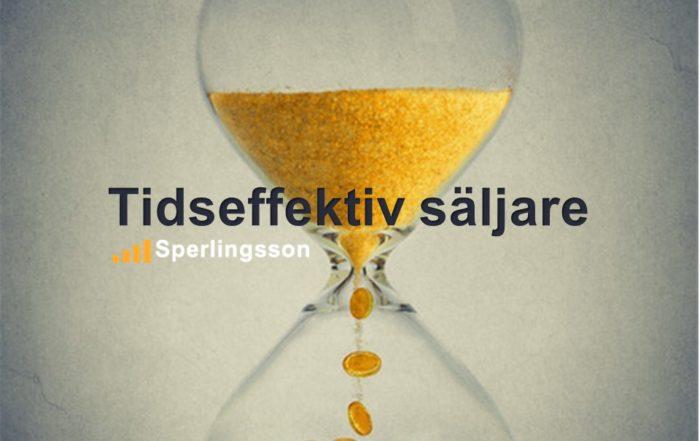 Tidseffektiv säljare | Inlägg av Stefan Sperlingsson | Lär dig bygga kundnöjdhet | Ring Sperlingsson direkt → → 0733-850216