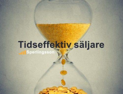 Tiden är materialet säljarens liv är gjort av