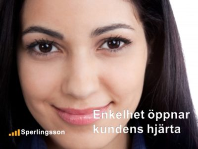 Enkelhet öppnar kundens hjärta | Inlägg av Stefan Sperlingsson | Lär dig bygga kundnöjdhet | Ring Sperlingsson direkt → → 0733-850216