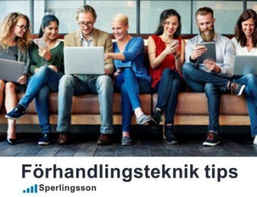 Förhandlingsteknik tips som drar in lönsamma kunder