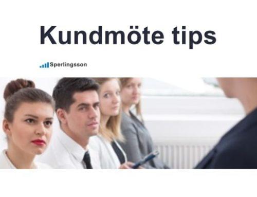 Kundmöte tips – för lyckade kundmöten och fler avslut