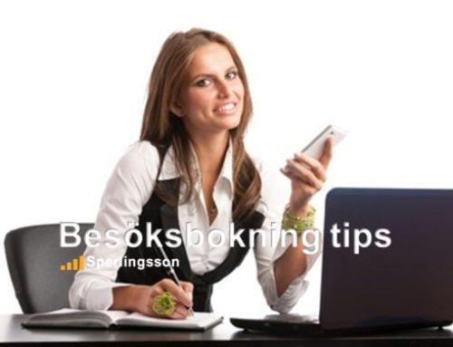 Besöksbokning tips som hjälper dig till bra kundbemötande