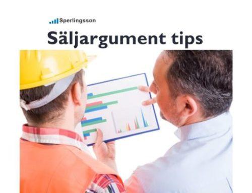 Säljargument tips som gör att du blir bättre ihågkommen