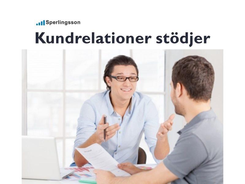 Kundrelationer stödjer framgångsrika företag   Inlägg av Stefan Sperlingsson   Lär dig bygga kundnöjdhet   Ring Sperlingsson direkt → → 0733-850216
