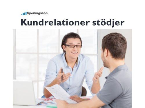 Kundrelationer stödjer framgångsrika företag | Inlägg av Stefan Sperlingsson | Lär dig bygga kundnöjdhet | Ring Sperlingsson direkt → → 0733-850216