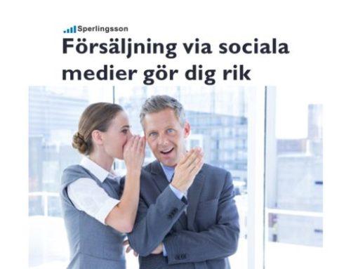 Marknadsföring via sociala medier ger dig framgång