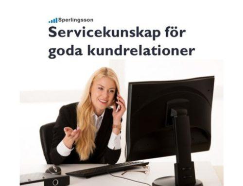 Servicekunskap för goda kundrelationer som bygger kundnöjdhet