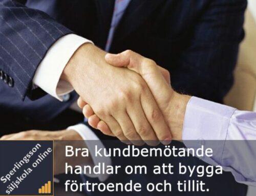 Bra kundbemötande tips som ger kunden förtroende